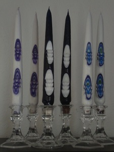 Assorted Carved Tapers